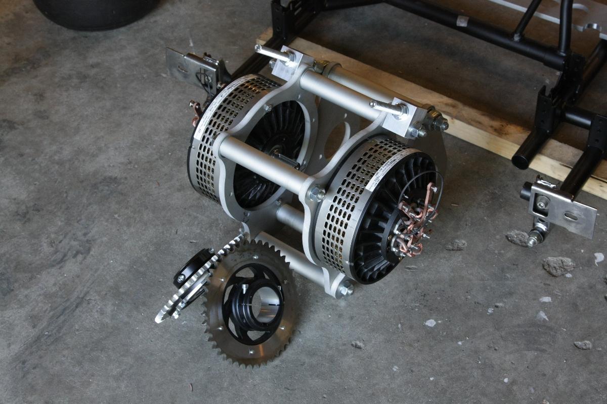 Electric Gokart 2 Ev Fun